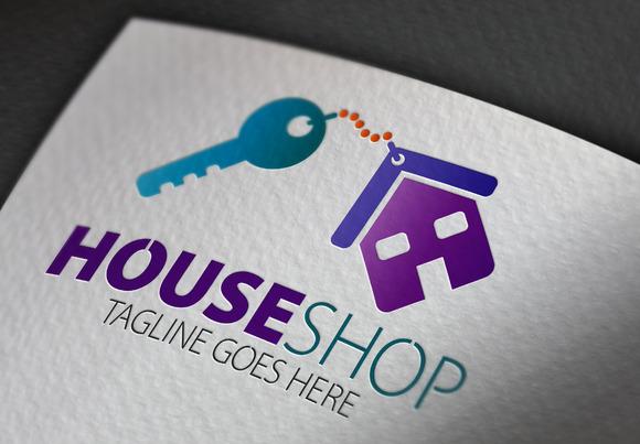 House Shop Logo