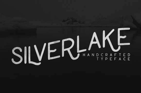 Silverlake Handcrafted Typeface