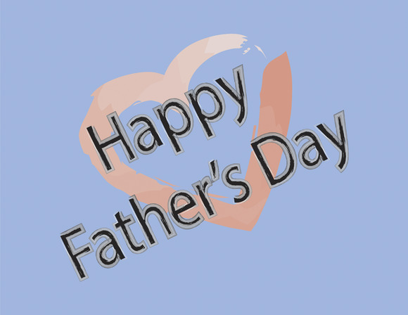 Happy Father S Day With A Heart