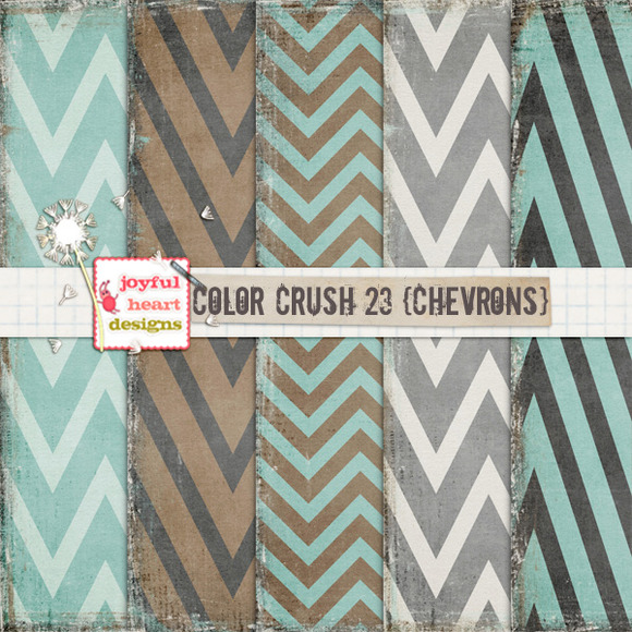Color Crush 23 {chevrons}