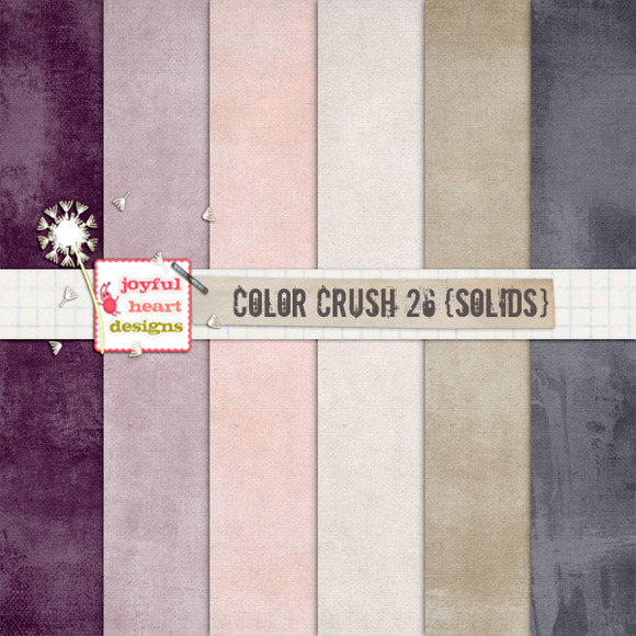 Color Crush 26 {solids}