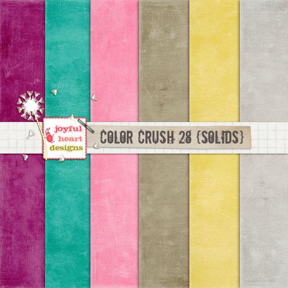 Color Crush 28 {solids}