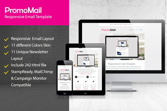 PromoMail Responsive Email Template