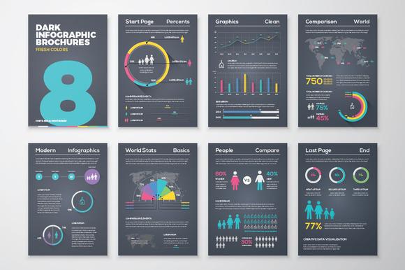 Infographic Brochure 8 Dark Version