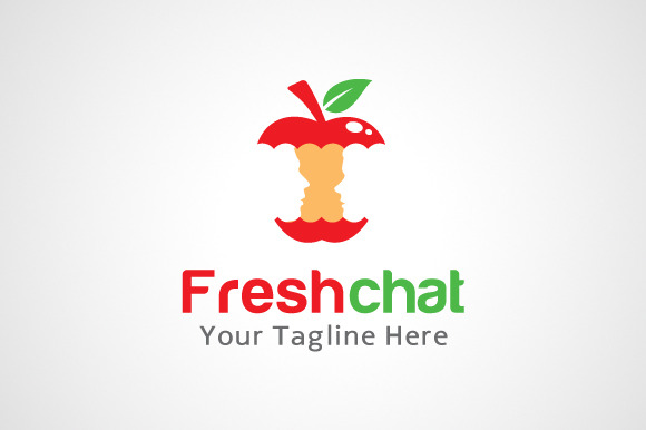 Fresh Chat Logo Design Icon