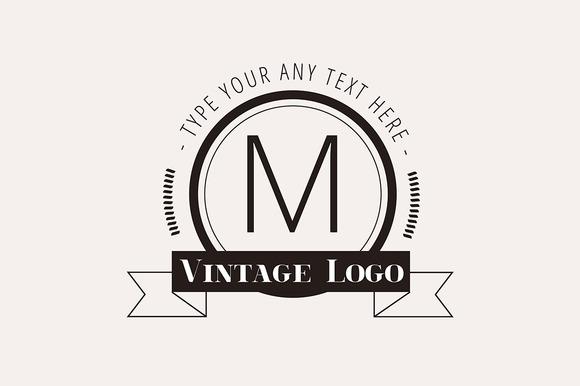 Hipster Vector Vintage Logo Element