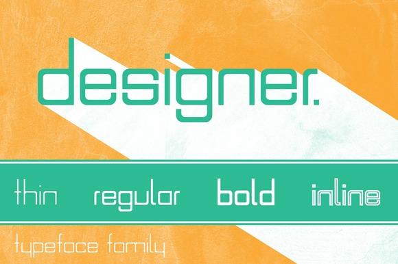 Designer Typeface