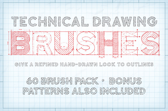 Technical Drawing Brushes