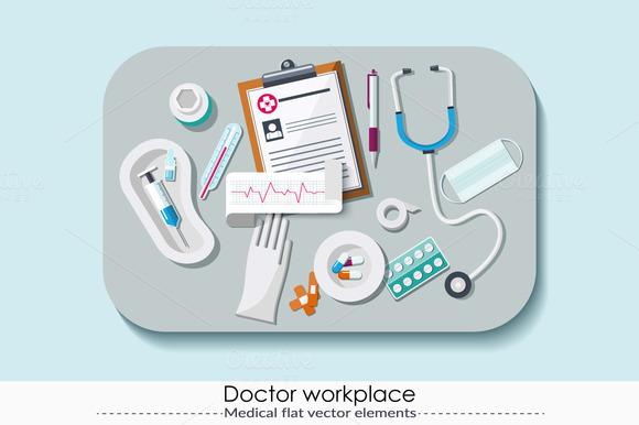 Set Of Medical Elements 6.0