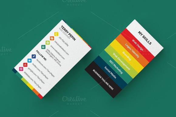 Social Media Business Card 61