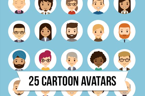 Cartoon Vector Avatars