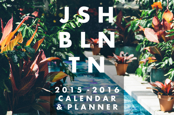 2015-2016 Calendar Planner