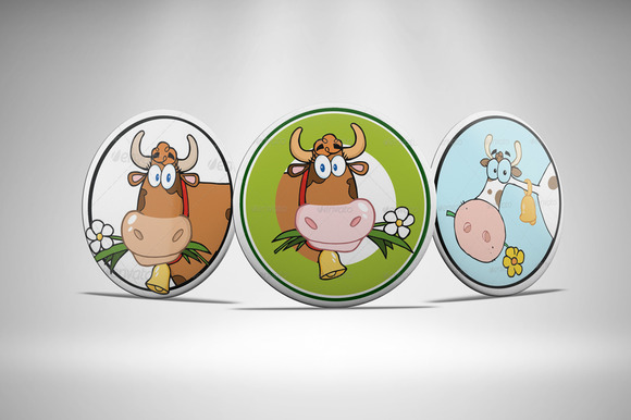 Badges Mockup Vol 3
