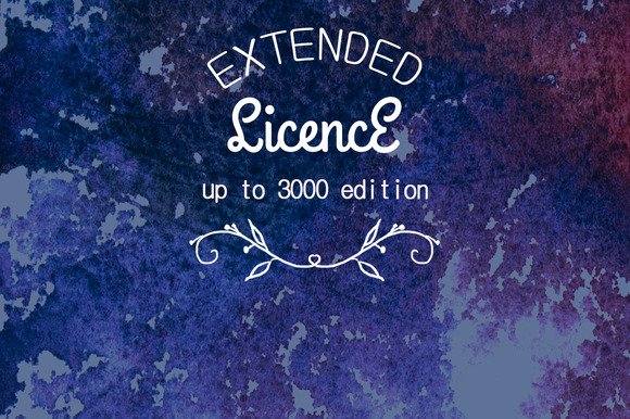 Extended Use License Up To 3000