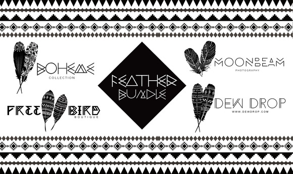 Feather Bundle Tribal Feathers Pack