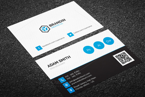 Creative Individual Business Card 62