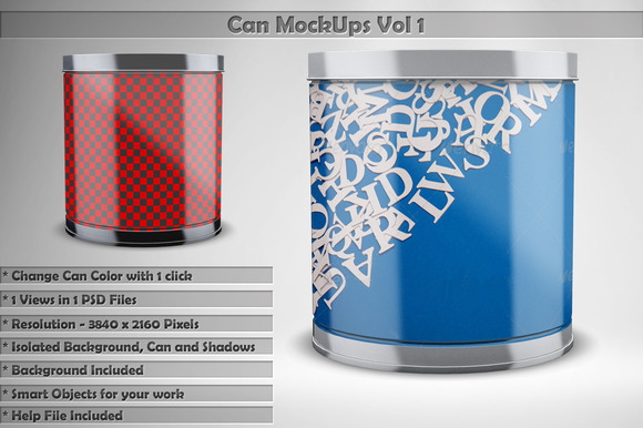 Can Mock Up Vol 1