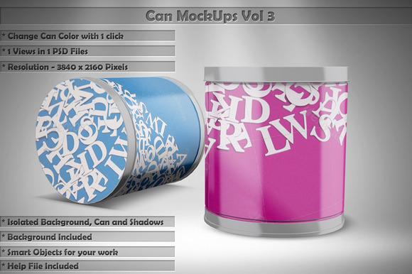 Can Mock Up Vol 3