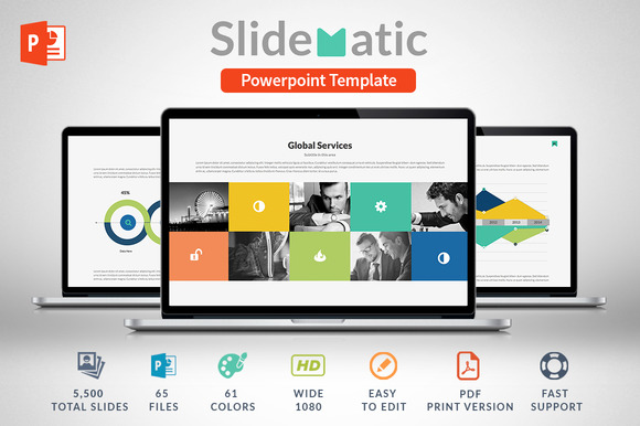 Slidematic Powerpoint Template