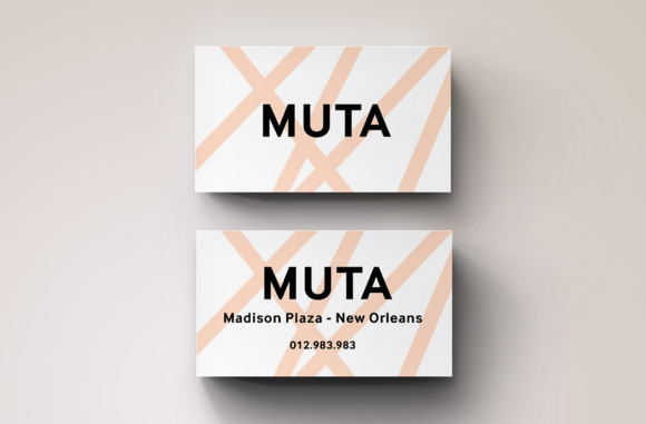 Modern Brand Business Card Template