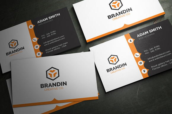 Creative Corporate Business Card 63