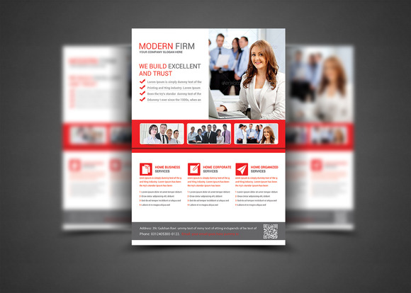 Professional Business Flyer Print Te