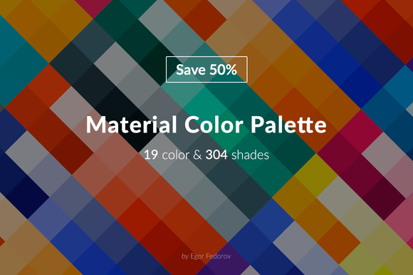 Material Color Palette