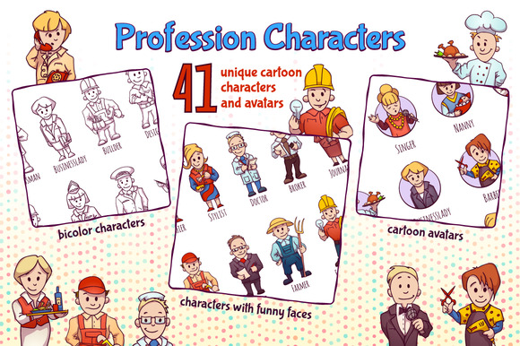 Profession Characters