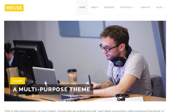 Meuse Multi-Purpose HTML Theme