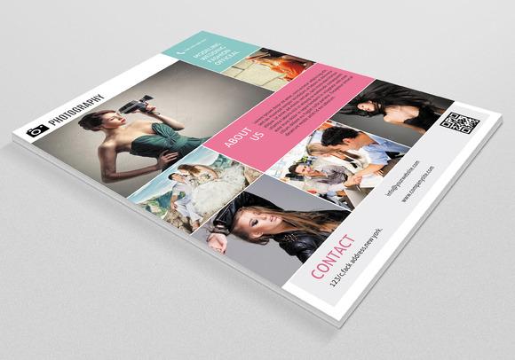 Retro Style Photography Flyer