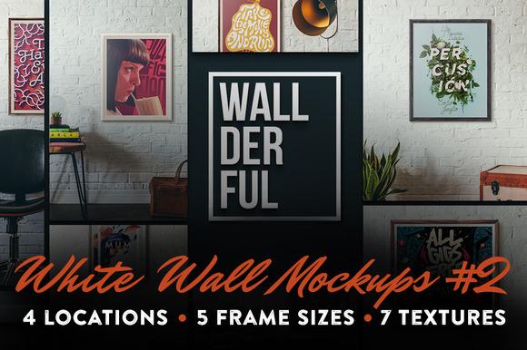 Wallderful White Wall Mockups #2