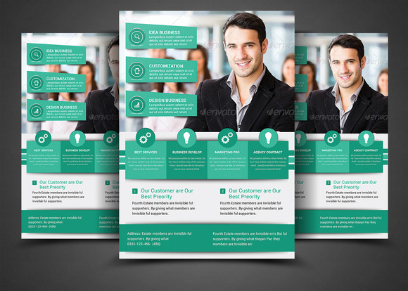 Multi Purpose Business Flyer Templat