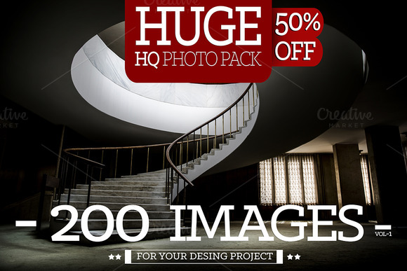 Hi-Res PHOTO PACK 200 50% OFF