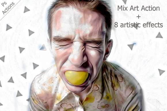 Mix Art Ps Action
