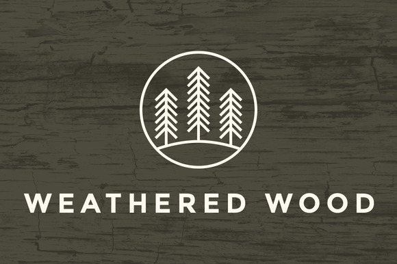 Weathered Wood Texture Brushes