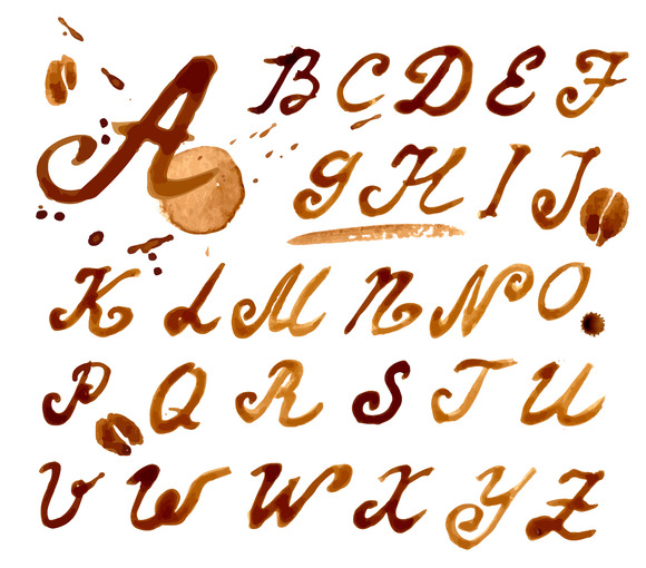 #12 Handwritten Font Coffee