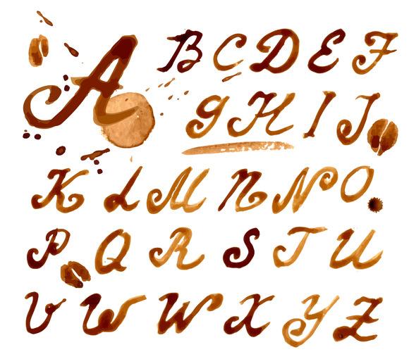 #12 Handwritten Font Coffee