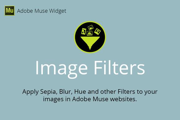 Image Filters Adobe Muse Widget