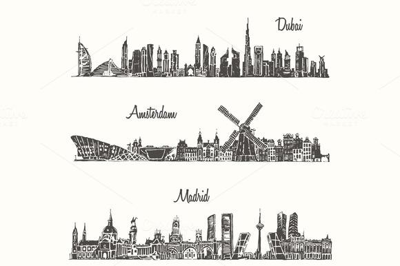 Dubai Madrid Amsterdam