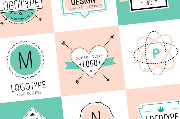Vector Vintage Logo Design Elements