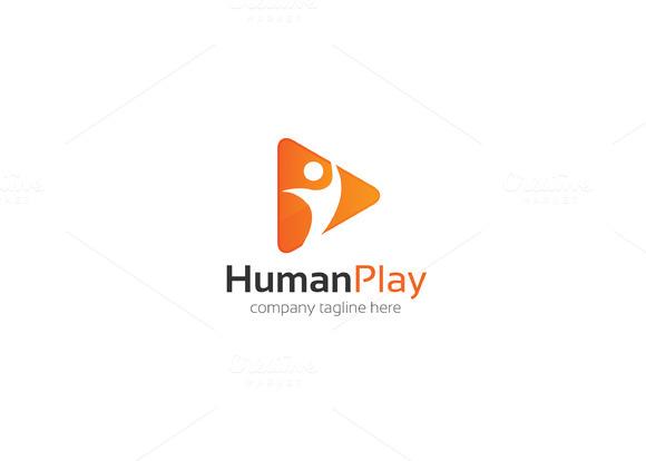 Human Play Logo