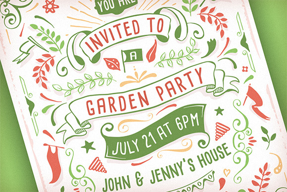 Summer Party Invitation Template