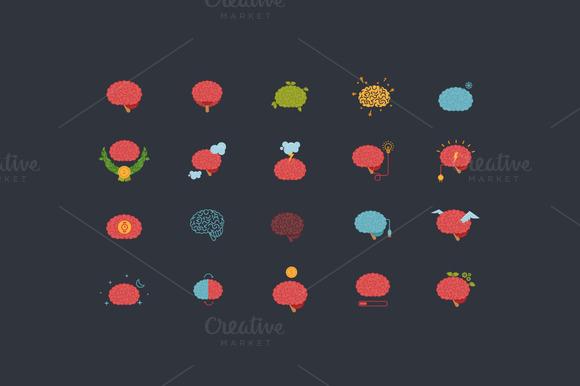 Brain Icons