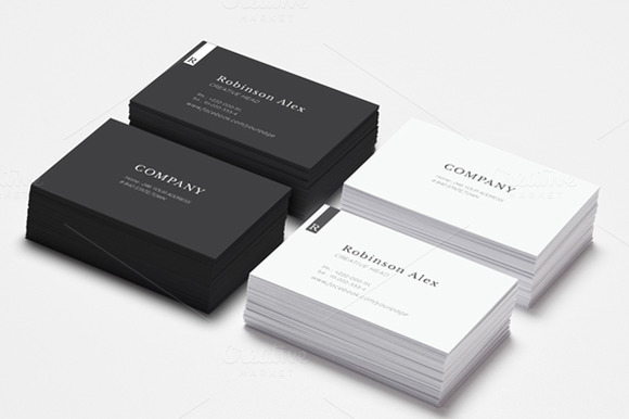 Simple Clean Business Card Vol2