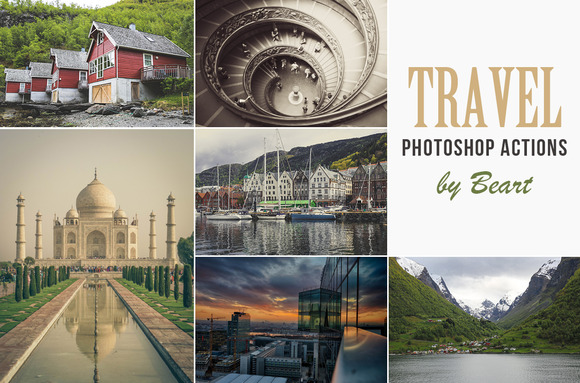 Landscape Travel Photoshop Actions