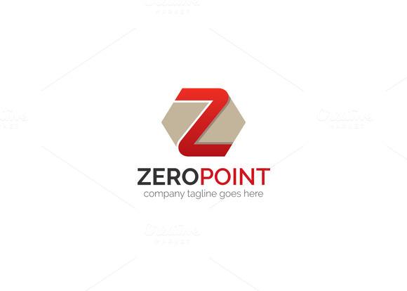 Zero Point Z Letter Logo