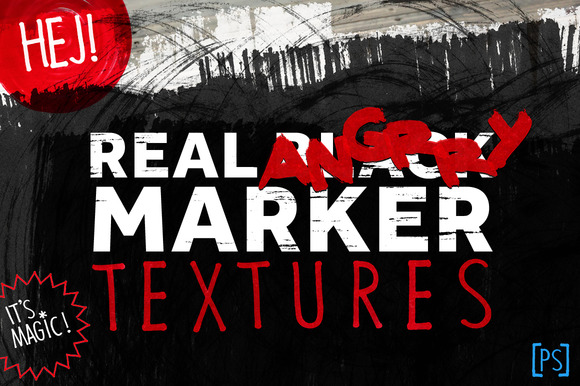 REAL ANGRY MARKER TEXTURES
