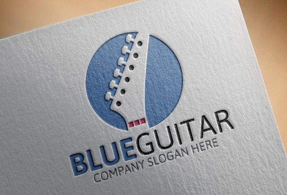 Blue Guitar Logo