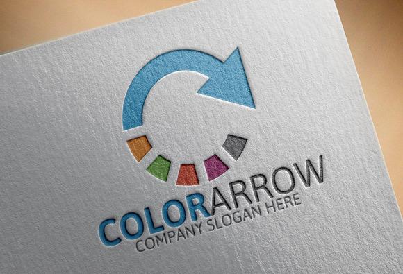 Color Arrow Logo