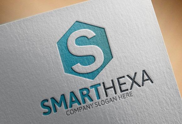 Hexa Smart Logo S Letter
